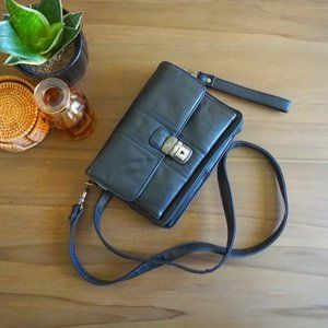 Italian Leather Crossbody Purse